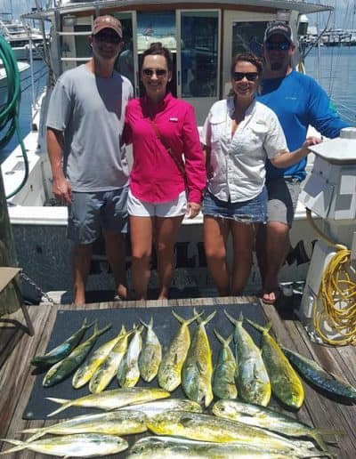 mahi mahi Triple Time Charters
