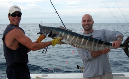caught a wahoo